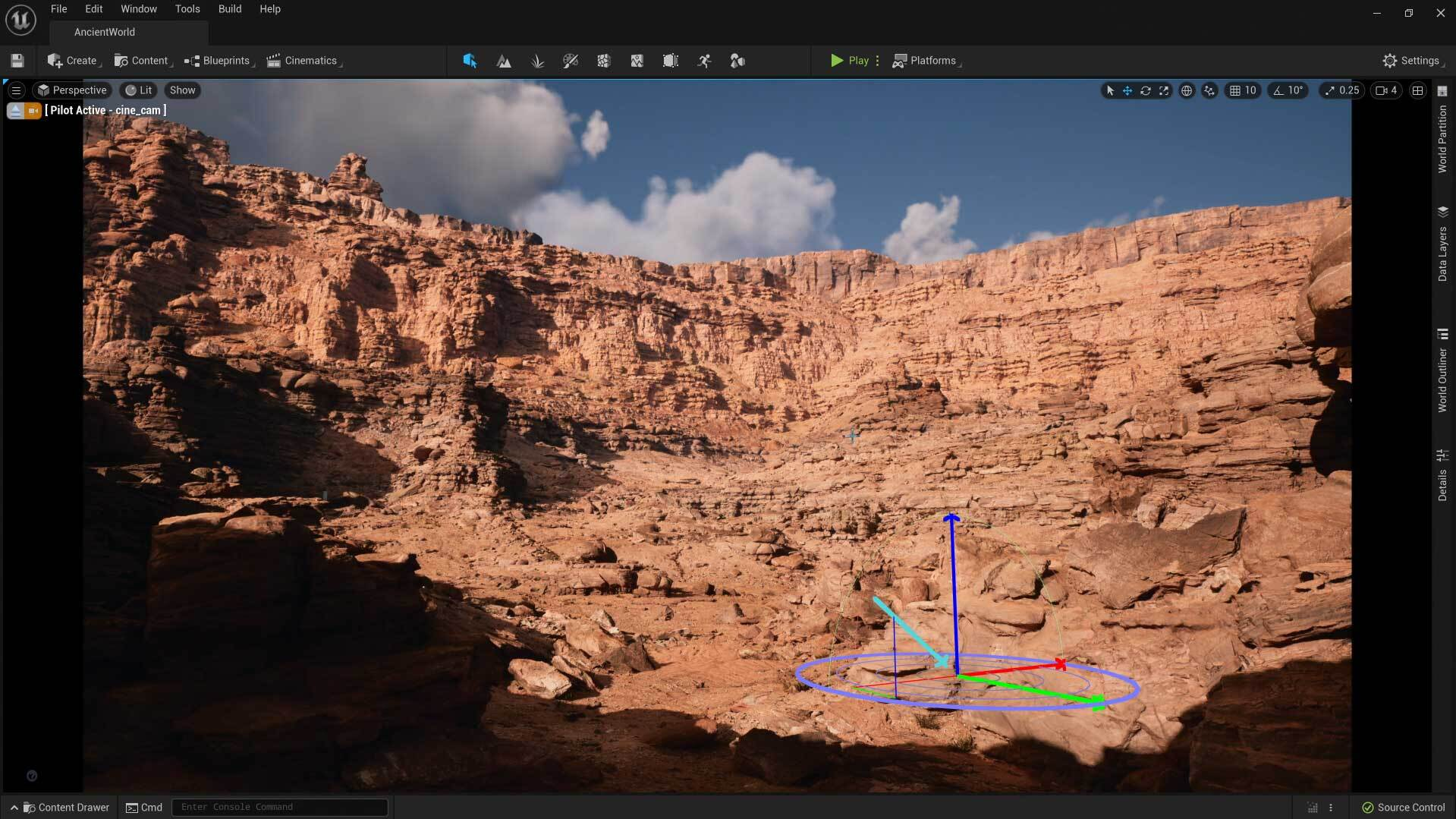 Unreal Engine 5 Lumen - and there will be light