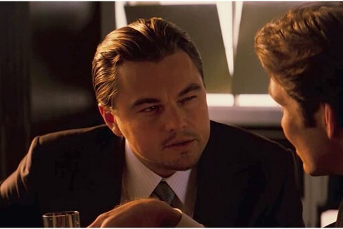 """LinkedIn profile tip article using a frame from """"Inception"""""""